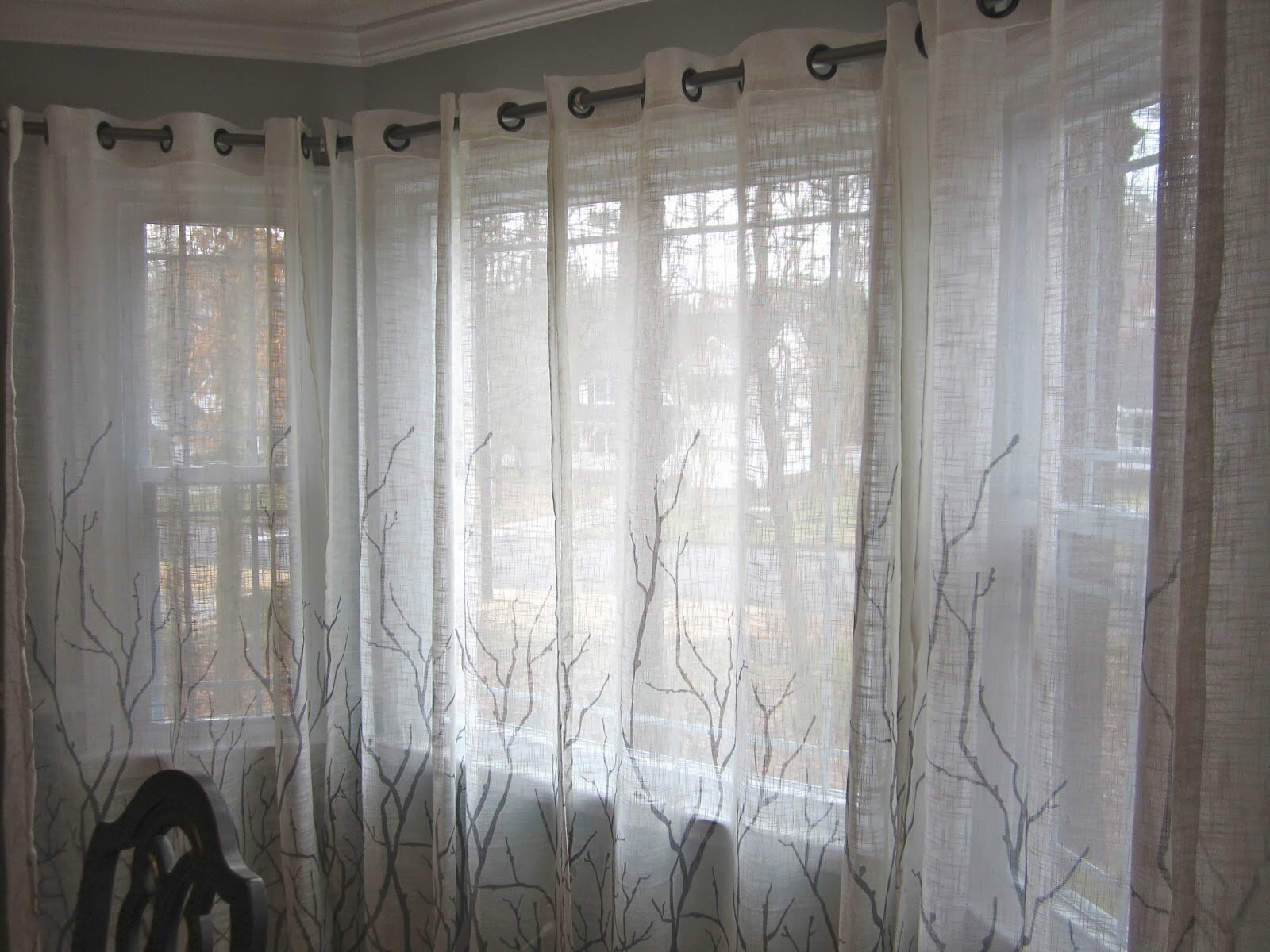 Bay Window Curtain Rods Bed Bath and Beyond | Bed Bath and Beyond Curtain Rods | Shower Rods