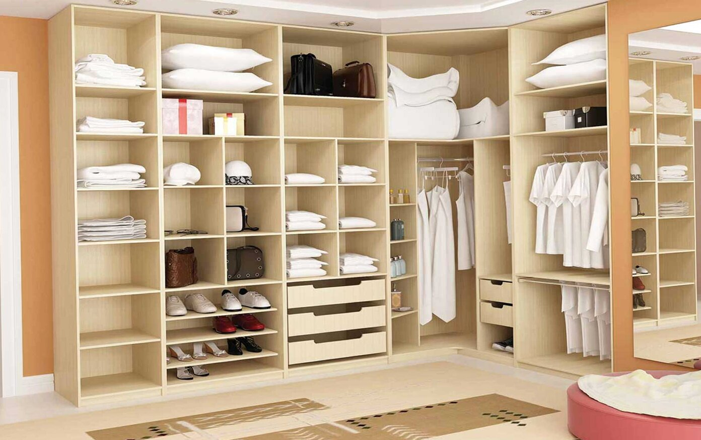 Closet interesting clothes storage design with closet for Design your own closet