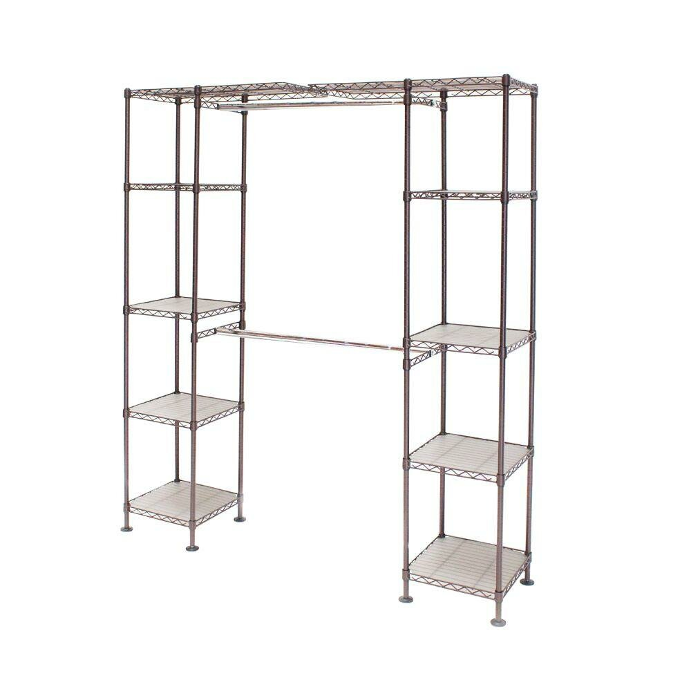 Expandable Closet Shelf | Seville Classics Home | Expandable Closet Organizer