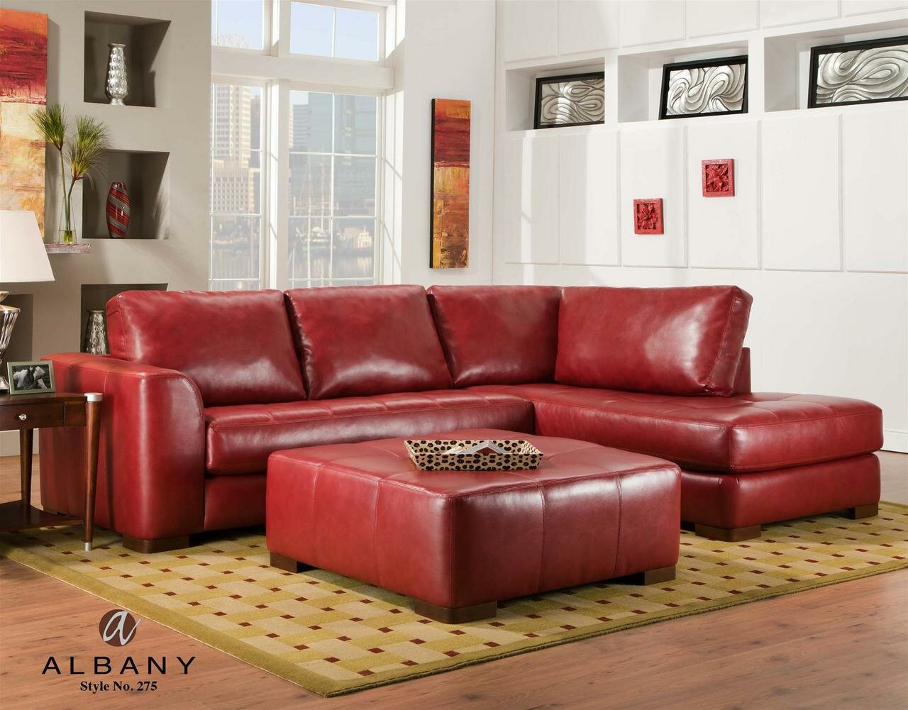 Grey Reclining Sectional Sofa | Red Sectional Sofa | Tan Sectional with Chaise