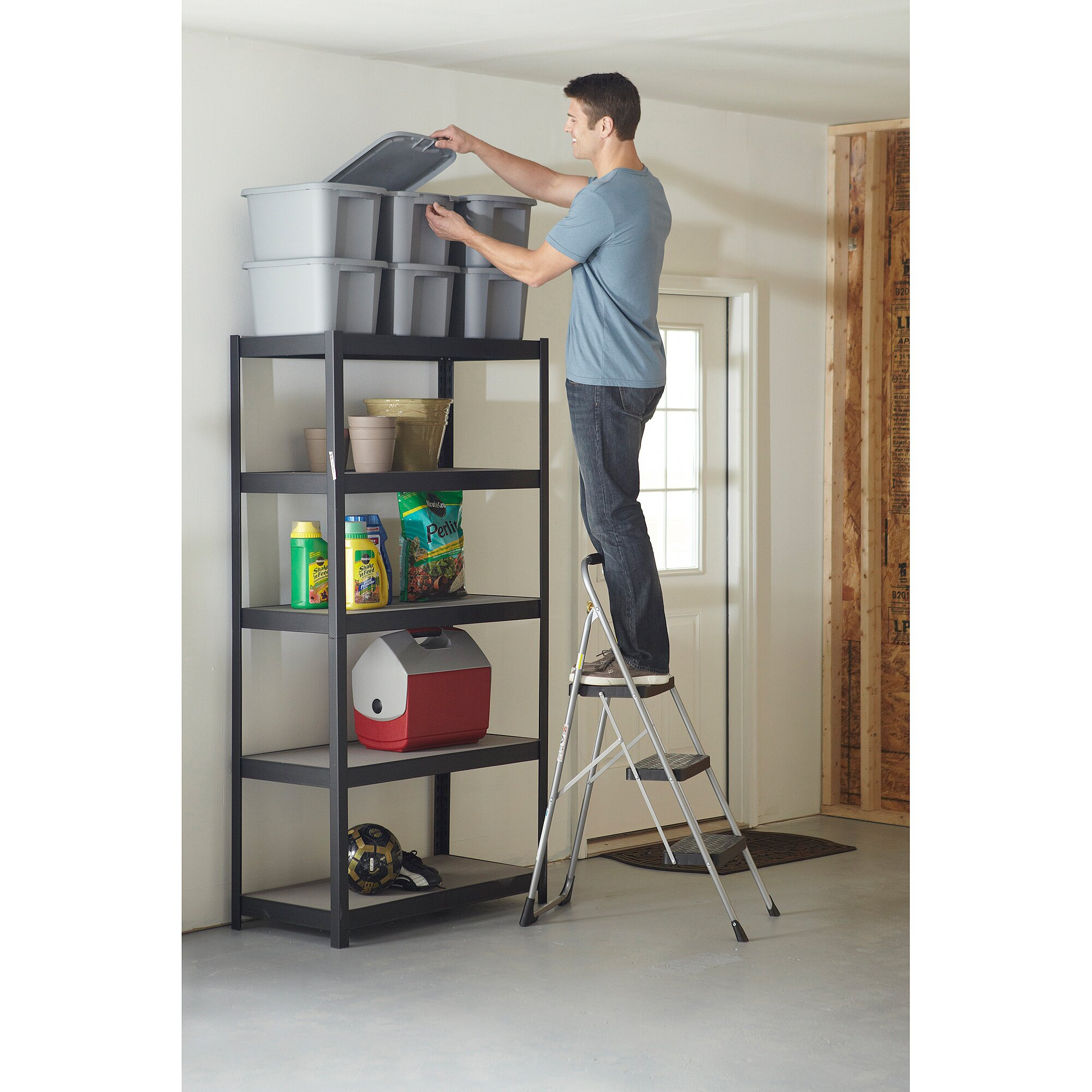 Lowes Folding Ladder | Lowes Step Stool | One Step Folding Step Stool