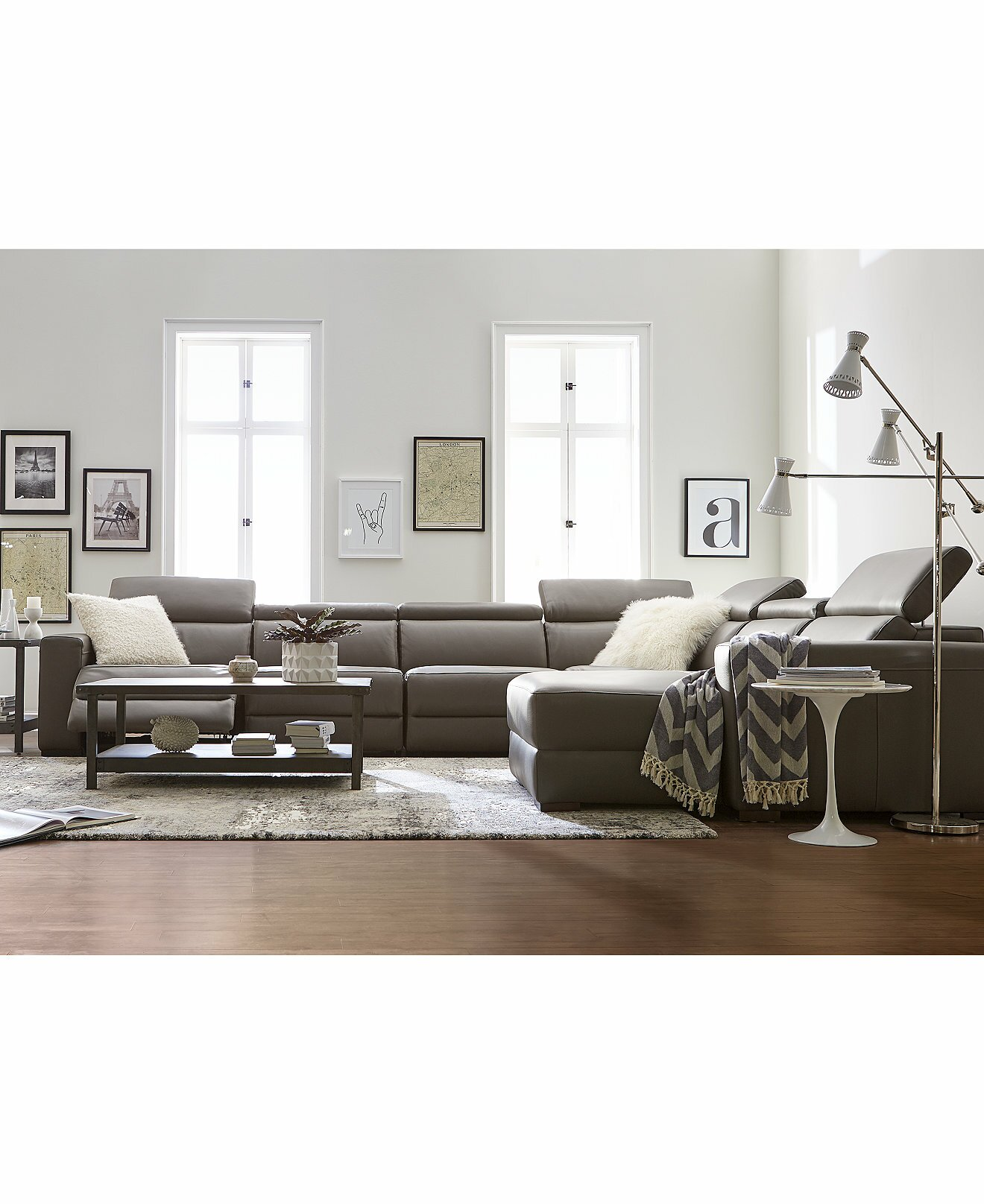 Www Macyfurniture: Sofas: Elegant Living Room Sofas Design By Macys Sectional