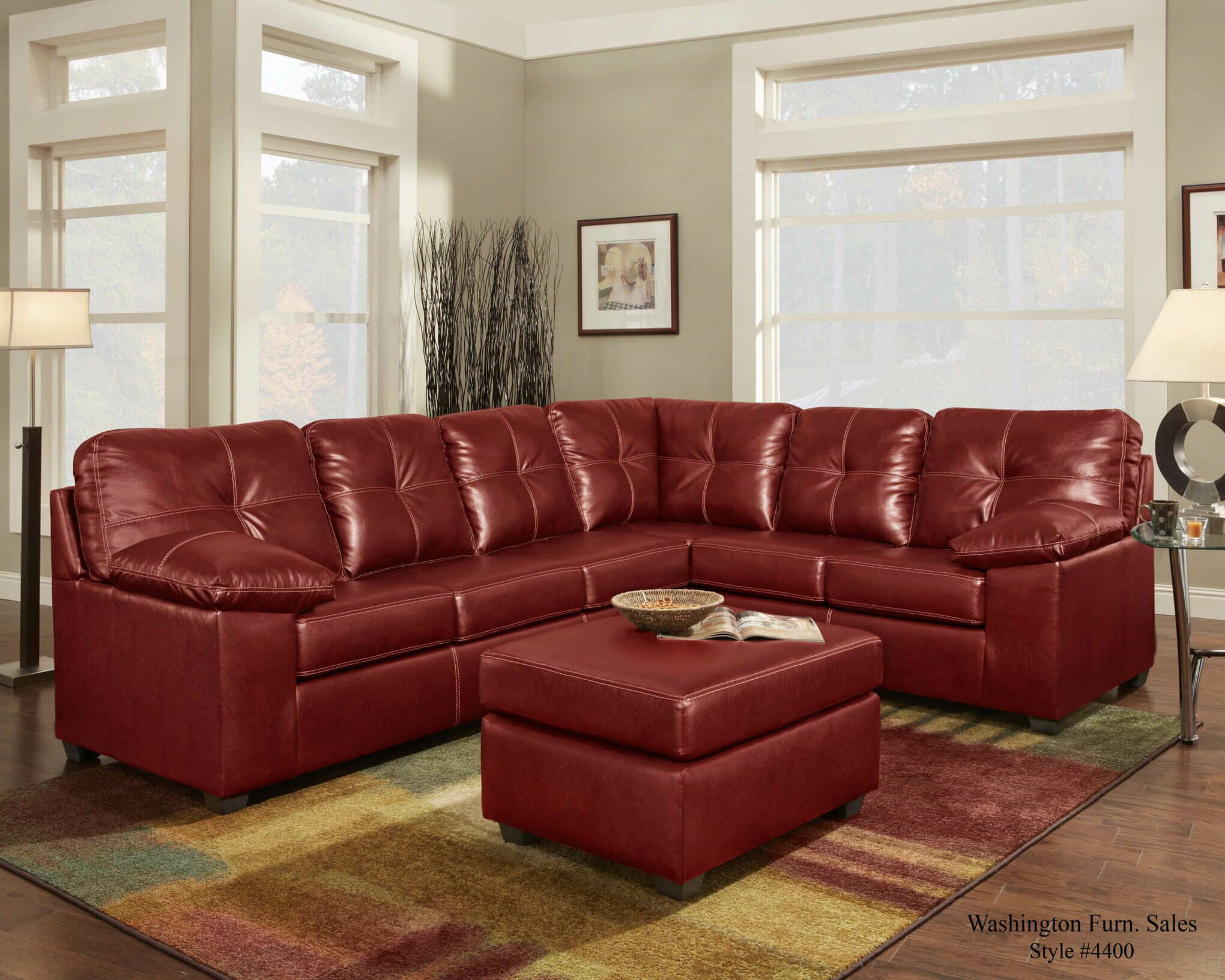 Red Sectional Sofa | Tan Sectional with Chaise | Sale on Sectional Sofas
