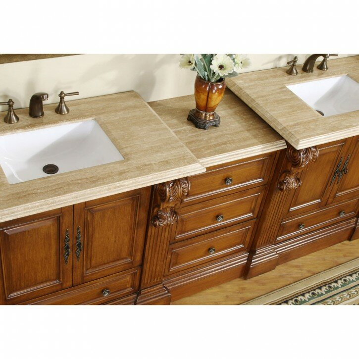Silkroad Exclusive | Bathroom Vanity And Cabinet Sets | Bathroom Vanity With Cabinet