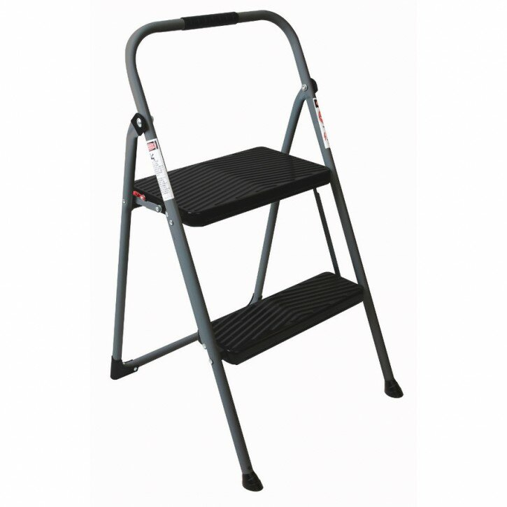Two Step Folding Stool | 2 Step Folding Step Stool | Lowes Step Stool
