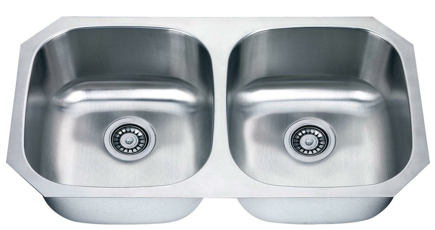 33x22 Stainless Steel Kitchen Sink | Kitchen Sinks Stainless Steel | Stainless Steel Undermount Kitchen Sink Double Bowl