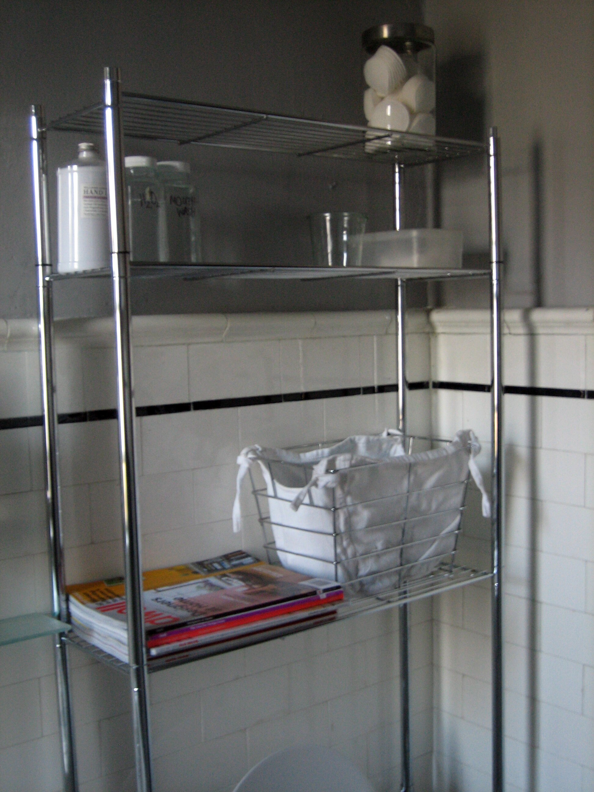Bathroom Space Saver Shelves | Toilet Etagere | Toilet Etagere