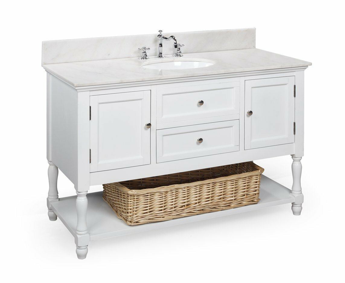 Bathroom Vanity and Sink | Pottery Barn Vanity | Pottery Barn Vanity