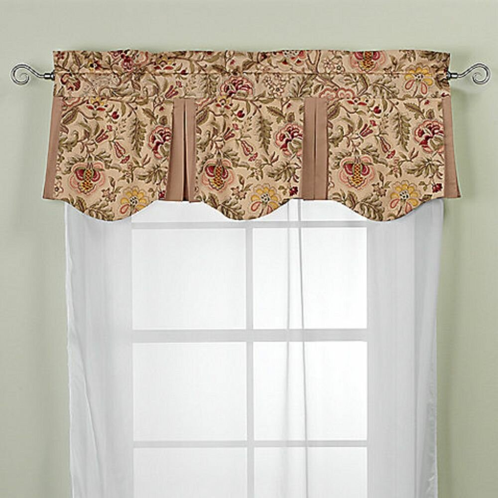 Country Style Living Room Curtain Valances