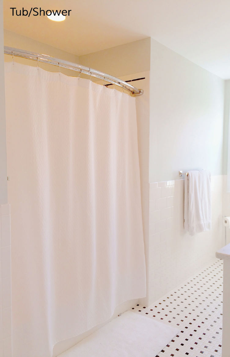 Bronze Shower Curtain Rod | Restoration Hardware Shower Curtain | Restoration Hardware Curtain Rods