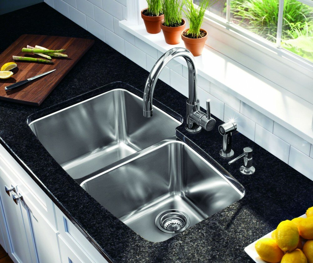 Brushed Stainless Steel Sinks Kitchen | Kitchen Sinks Stainless Steel | Lowes Stainless Steel Kitchen Sinks
