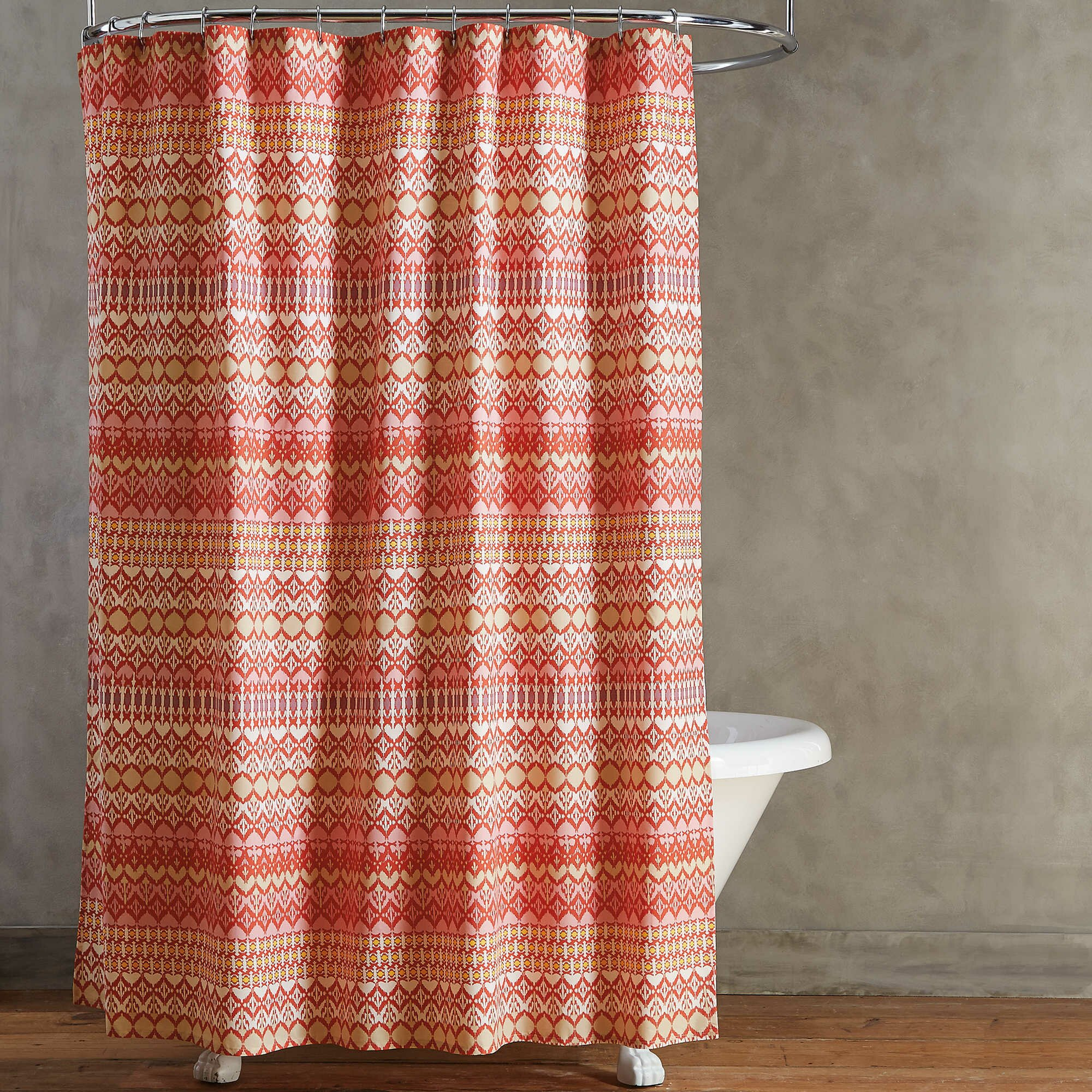 Curtain: Cheap Cloth Shower Curtains