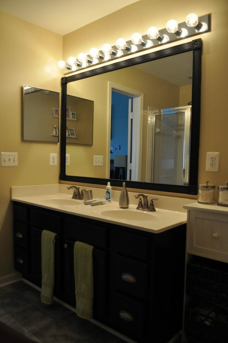 Corner Bathroom Vanity | Pottery Barn Vanity | Pottery Barn Bathroom Cabinet