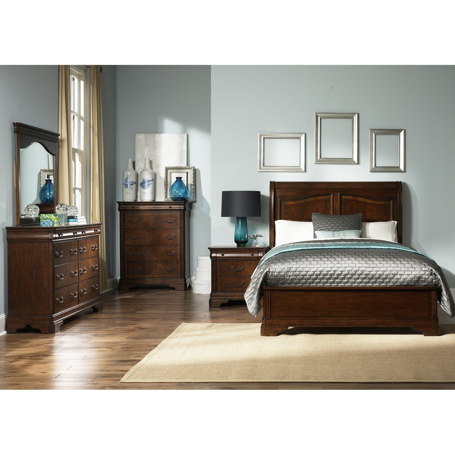 Bedroom sets on sale ashley furniture b376 alisdair for Cheap quality bedroom furniture