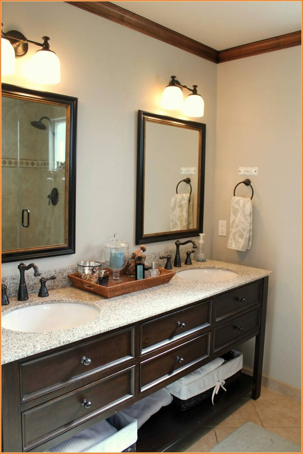 Crate And Barrel Bathroom Vanity | Pottery Barn Vanity | Restoration Hardware Sink Vanity