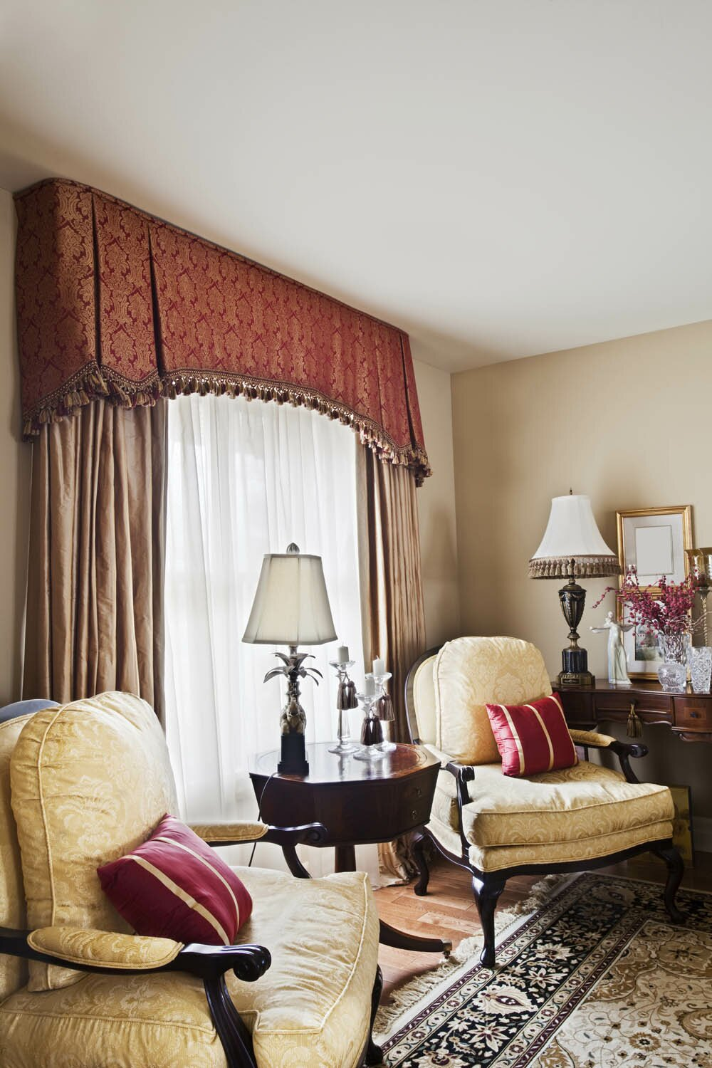 Dining Room Curtains And Valances Living Room Drapes
