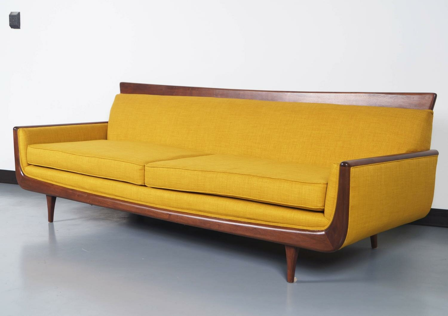 Discount Danish Furniture | Mid Century Inspired Sofa | Mid Century Sofas