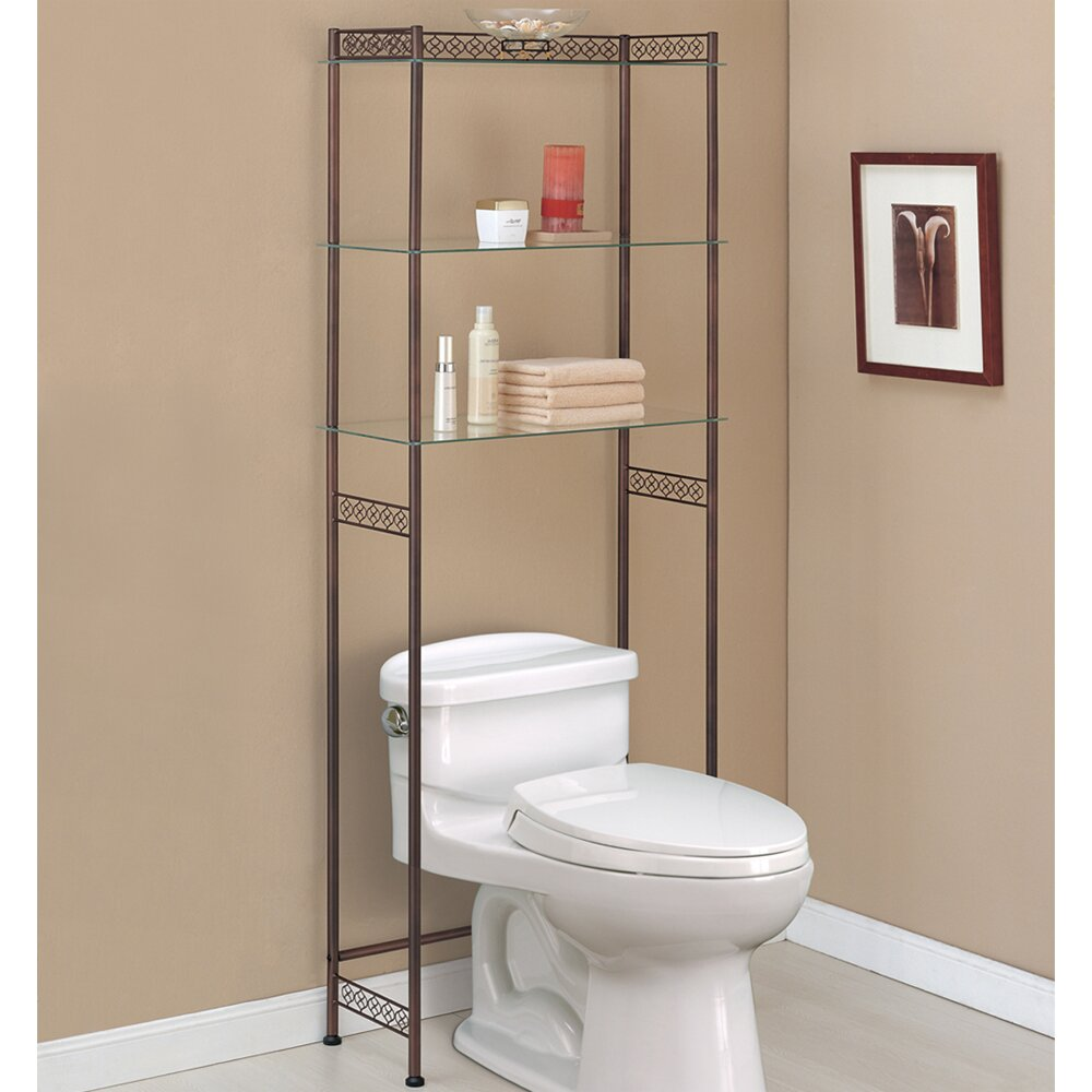 bathroom metal etagere bathroom toilet etagere space. Black Bedroom Furniture Sets. Home Design Ideas