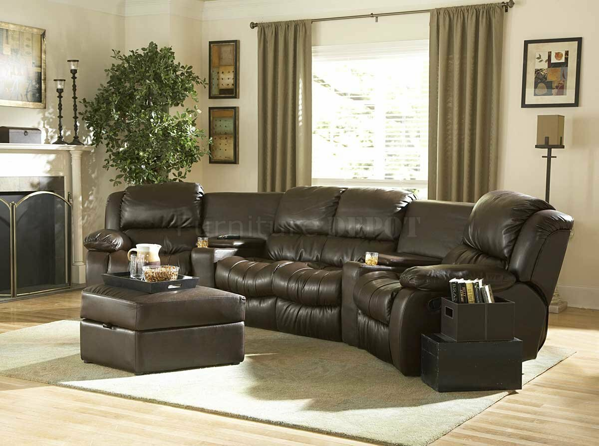 Ethan Allen Leather Couch | Ethan Allen Leather Chair and Ottoman | Ethan Allen Leather Recliner
