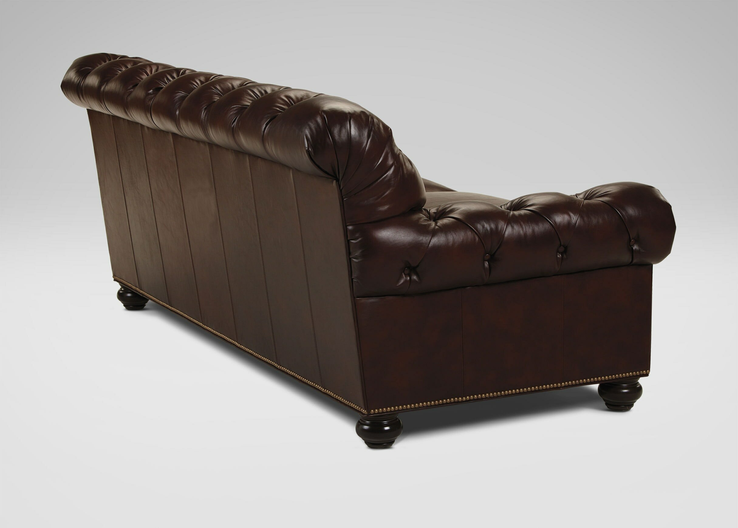 Ethan Allen Leather Couch | Ethan Allen Leather Sectionals | Ethan Allen Bennett Sofa