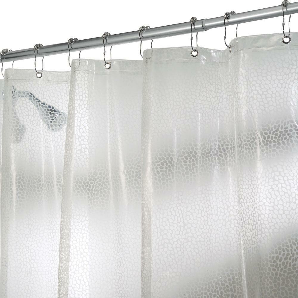 Extra Long Shower Curtain White | Upscale Shower Curtains | Restoration Hardware Shower Curtain