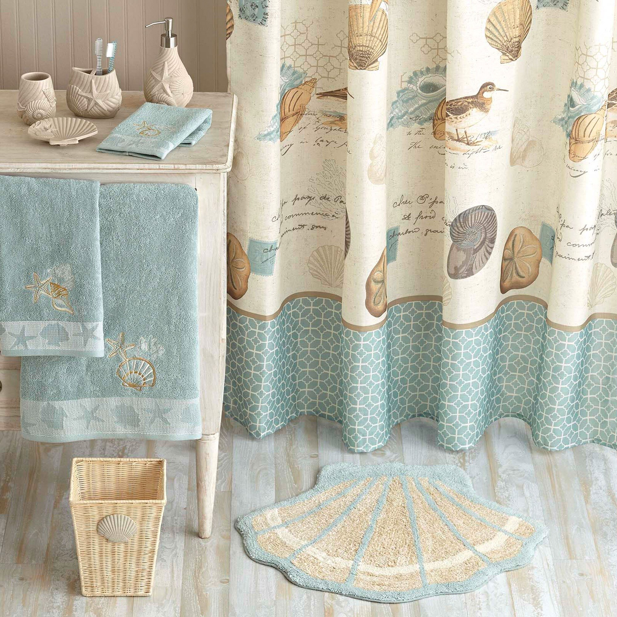 Fabric Shower Curtains | Walmart Shower Curtain | Walmart Shower Curtain Rod