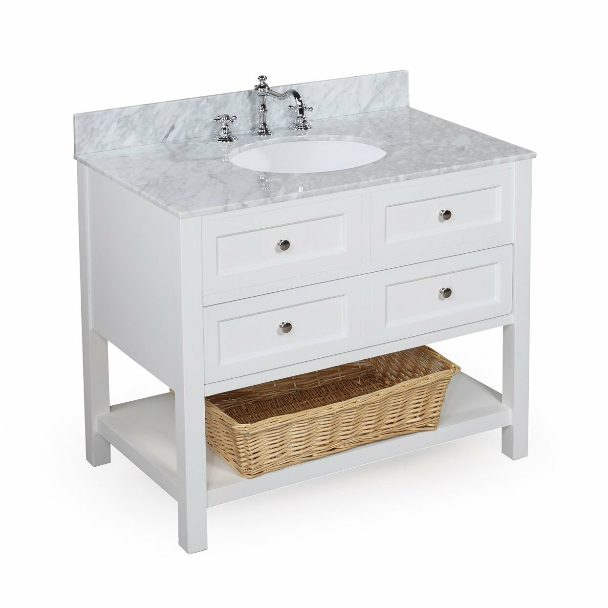 Farmhouse Bathroom Sink Vanity | Potterybarn Bathrooms | Pottery Barn Vanity