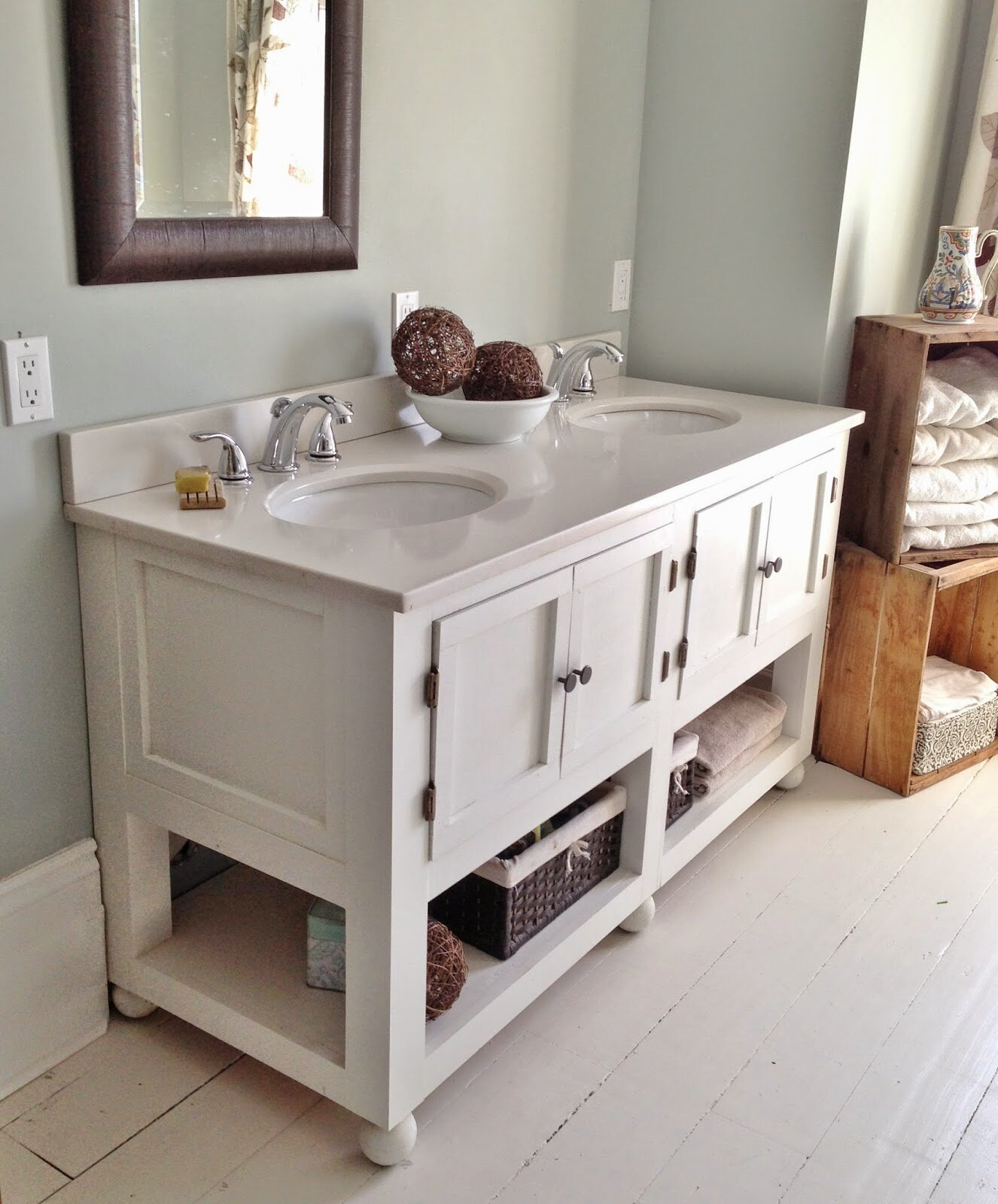 Fairmont Designs Bathroom Vanities Farmhouse Vanity Affordable Custom Made Double Sink