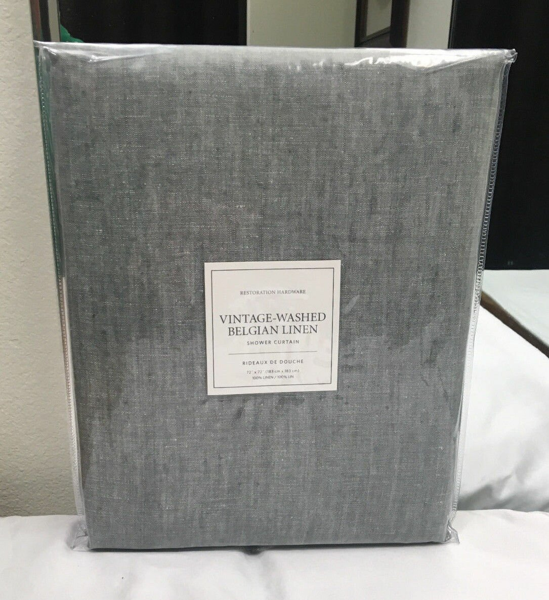 High End Shower Curtains | Elegant Shower Curtains | Restoration Hardware Shower Curtain