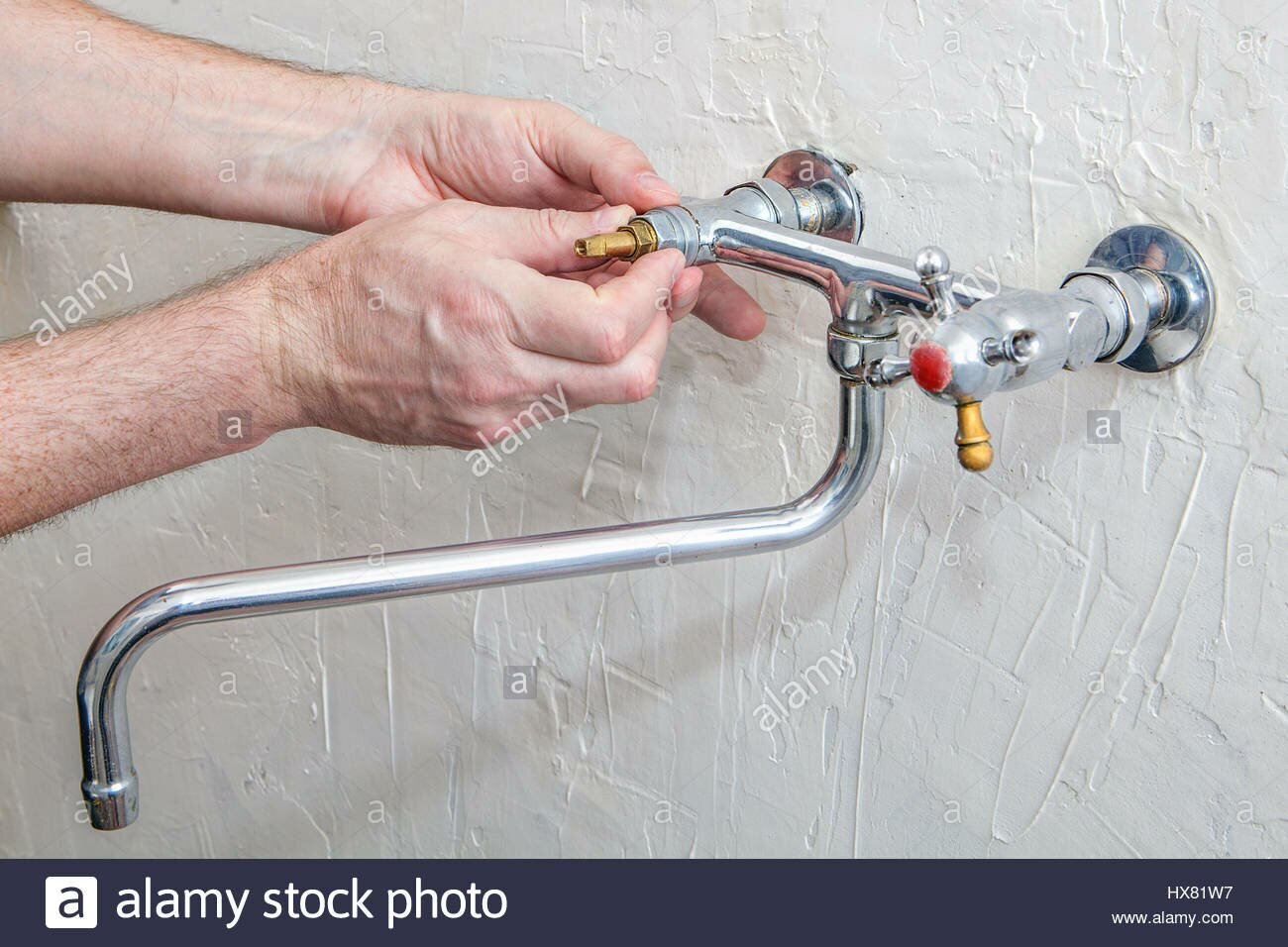 How To Repair A Leaking Kitchen Faucet | How To Fix A Dripping Kitchen  Faucet |
