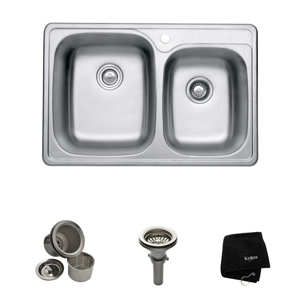 Kitchen Sinks Stainless Steel | Double Kitchen Sinks Stainless Steel | 18 Gauge Kitchen Sinks Stainless Steel