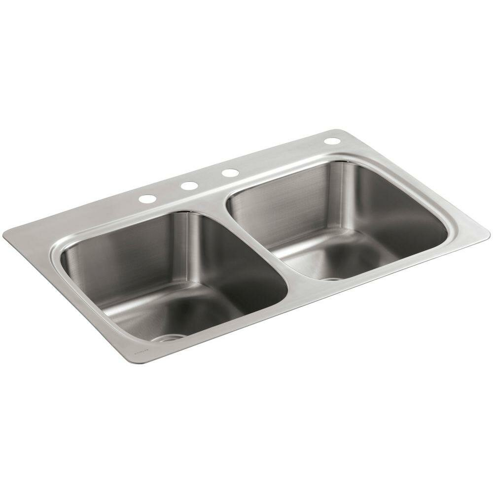 Kitchen Sinks Stainless Steel | Home Depot Stainless Steel Kitchen Sinks | Brushed Stainless Steel Sinks Kitchen