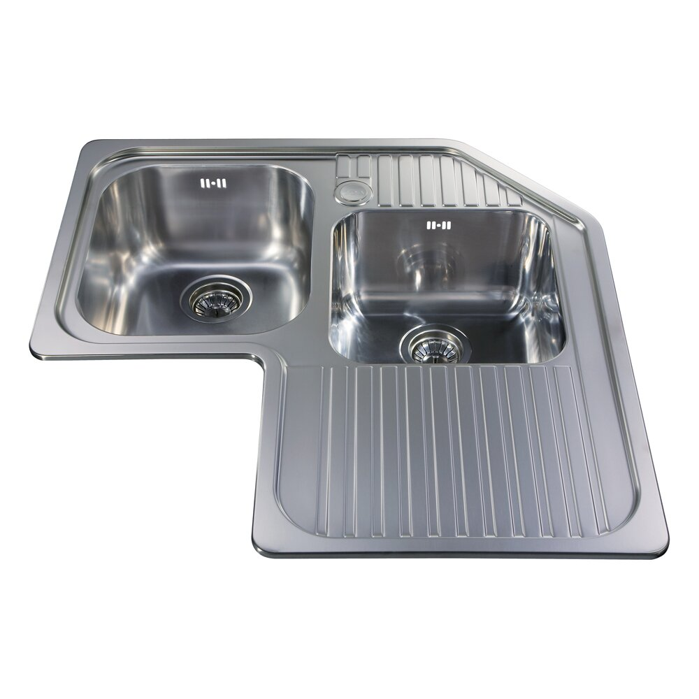 Modern corner kitchen sinks - Kitchen Sinks Stainless Steel Kitchen Sinks Stainless Large Stainless Steel Kitchen Sinks