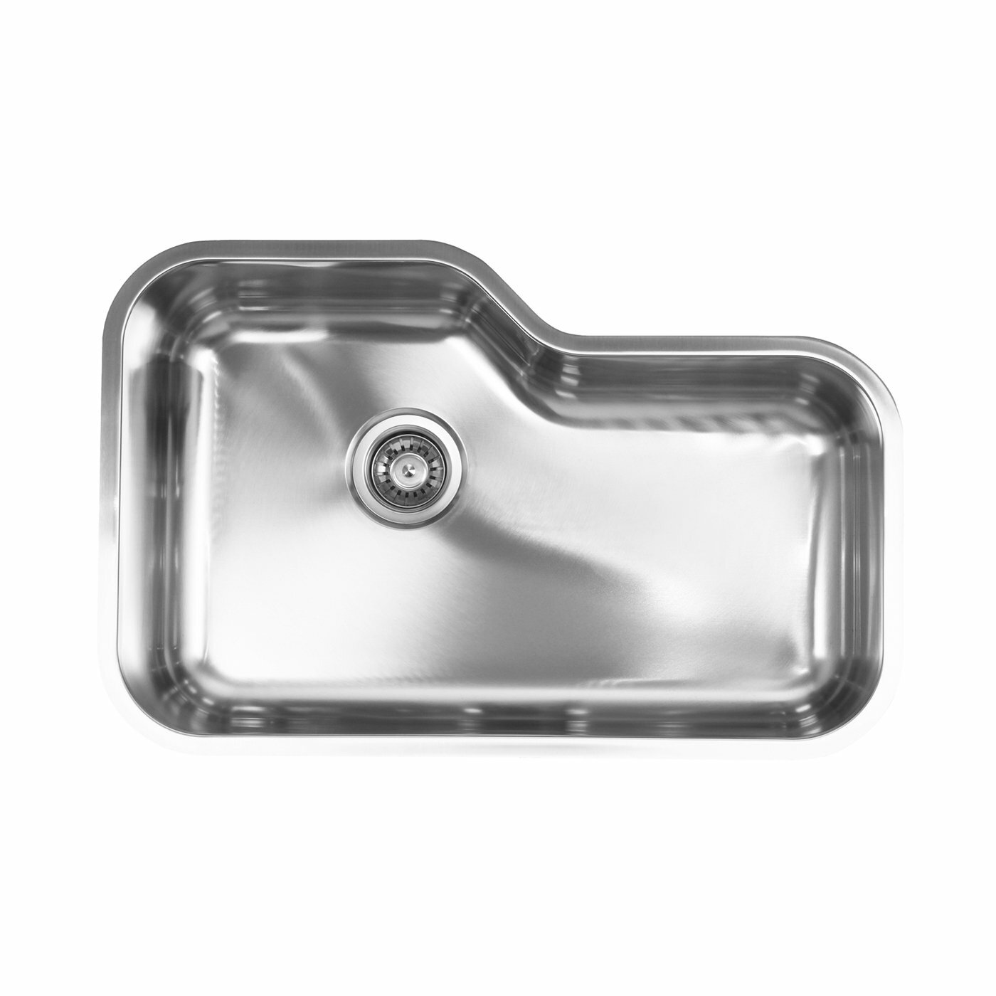 kitchen: stainless steel kitchen sink strainer drain stopper