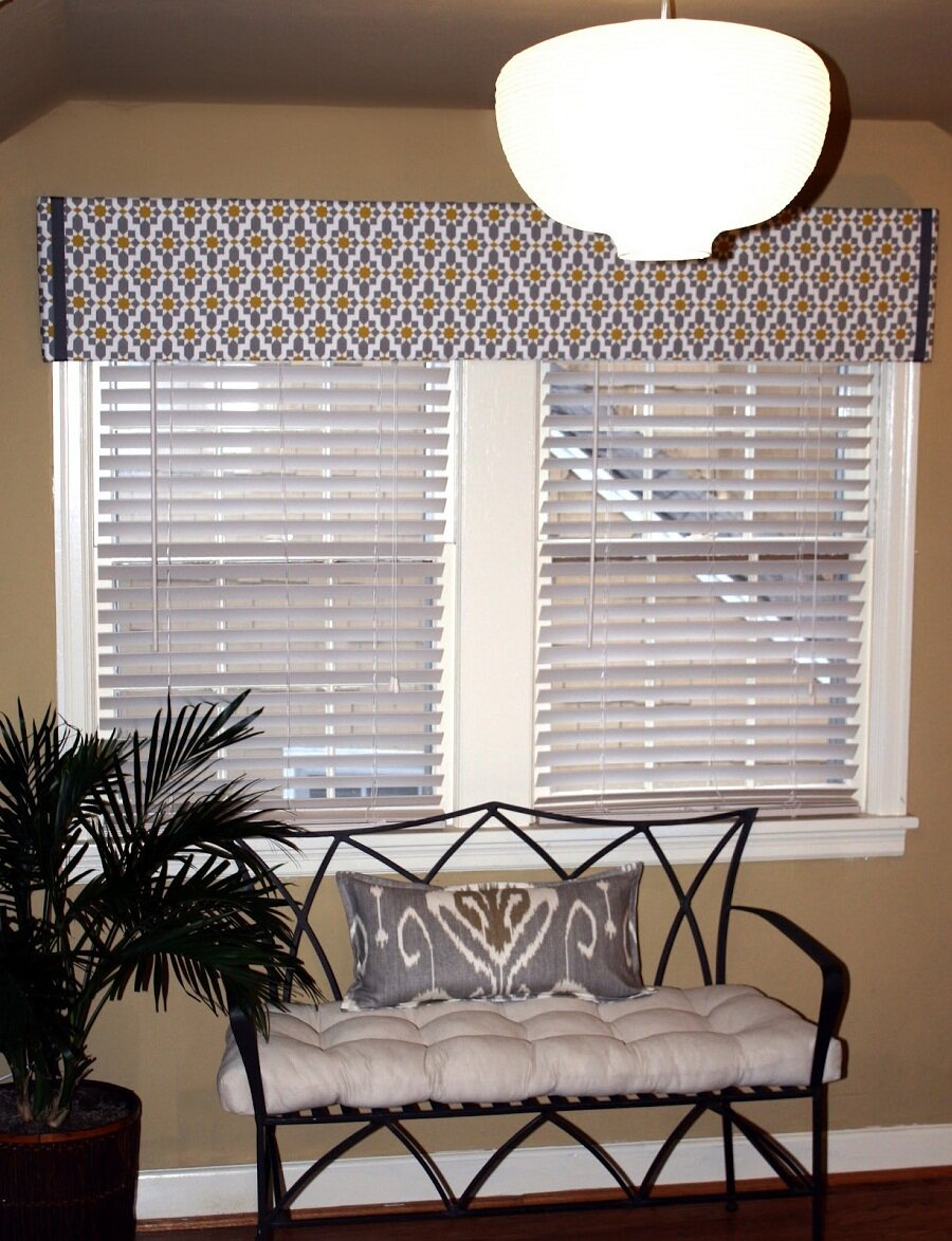 Living Room Valances | Living Room Window Valances | Sheer Valances Window Treatments