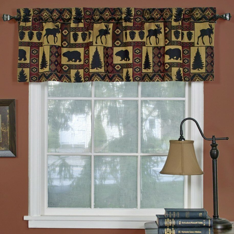 Living Room Valances | Valances for Dining Room | Curtains Toppers for Windows