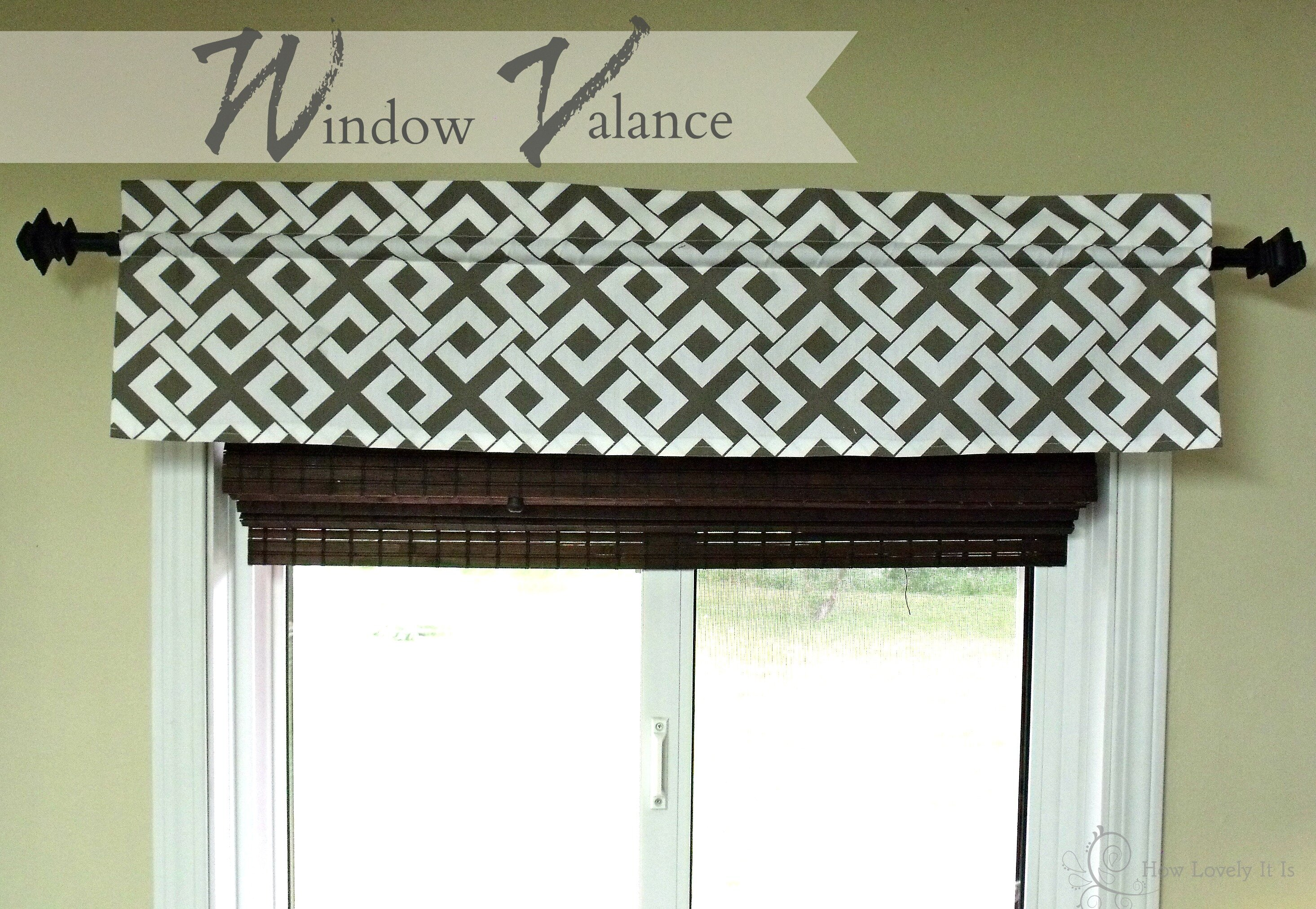 Living Room Valances | Valances for Kitchen Windows | Valance Window Treatments