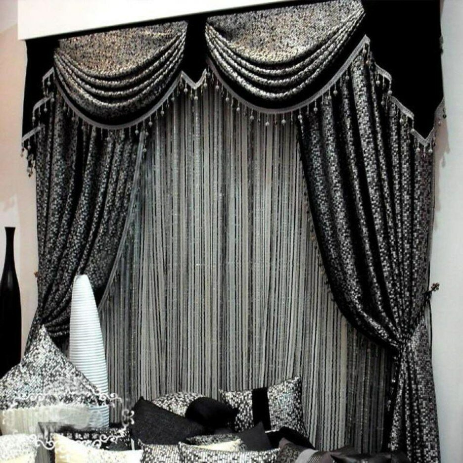 Living Room Valances | Where to Buy Valances | Tailored Valances for Living Room
