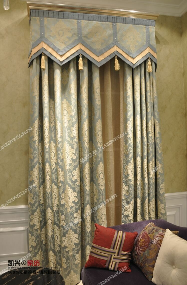 Living Room Valances | Window Valances for Living Rooms | Living Room Drapes and Valances