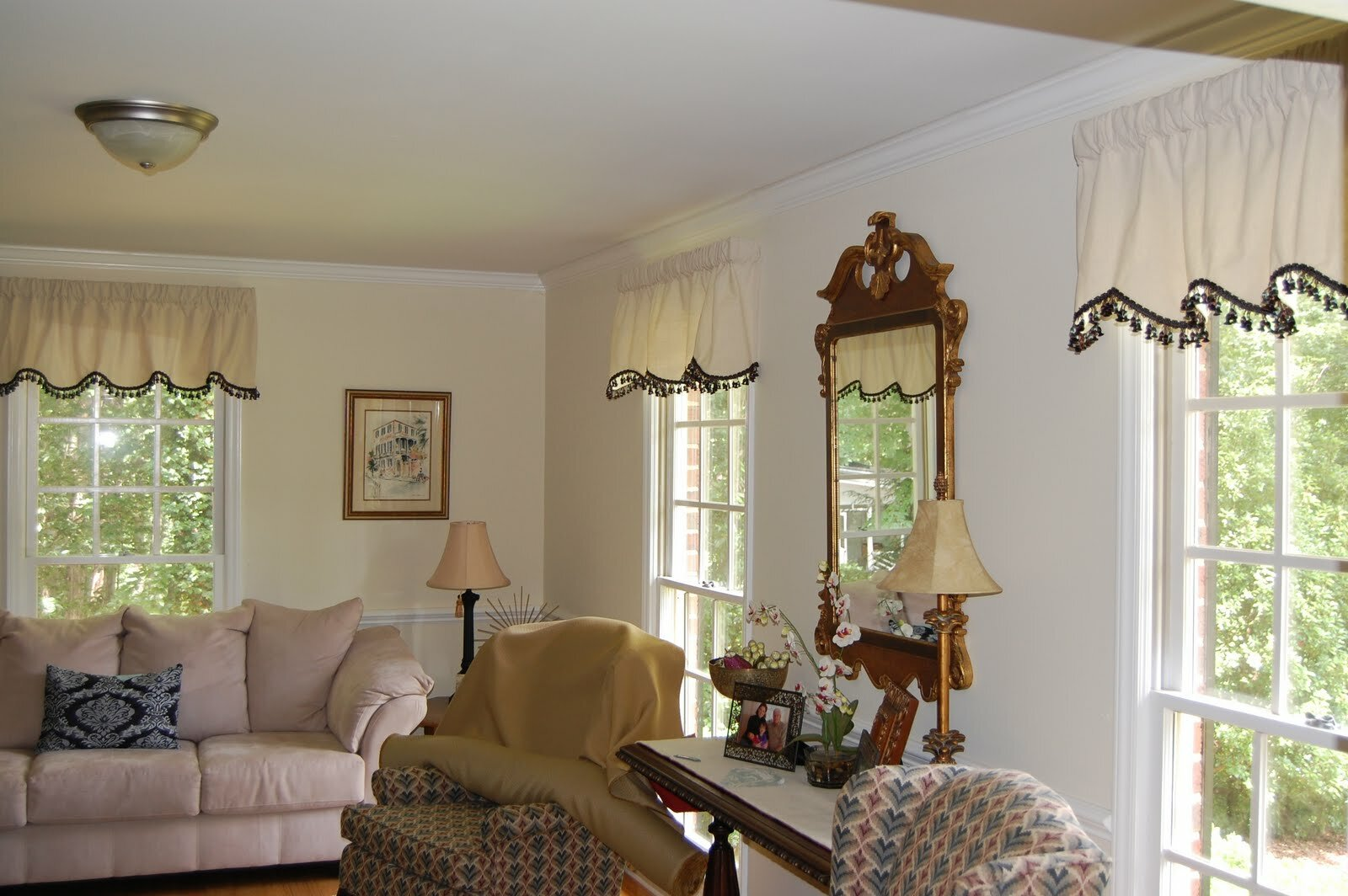 Living Room Valances | Windows Treatments Valance | Window Valances for Living Rooms