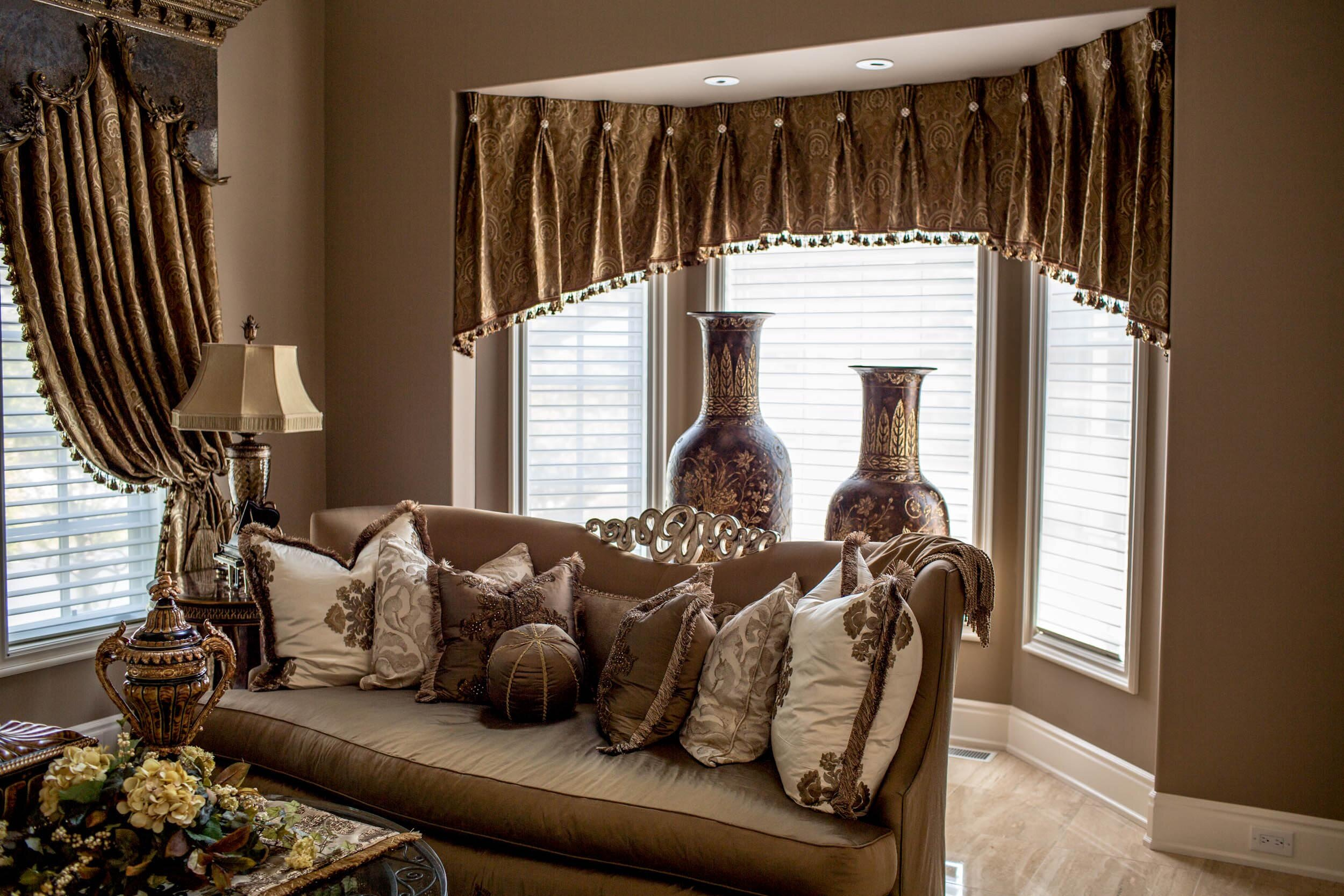Living Room Window Valances | Living Room Valances | Fancy Window Valances