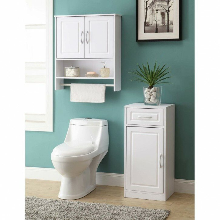 Metal Over The Toilet Shelf | Bathroom Etageres | Toilet Etagere