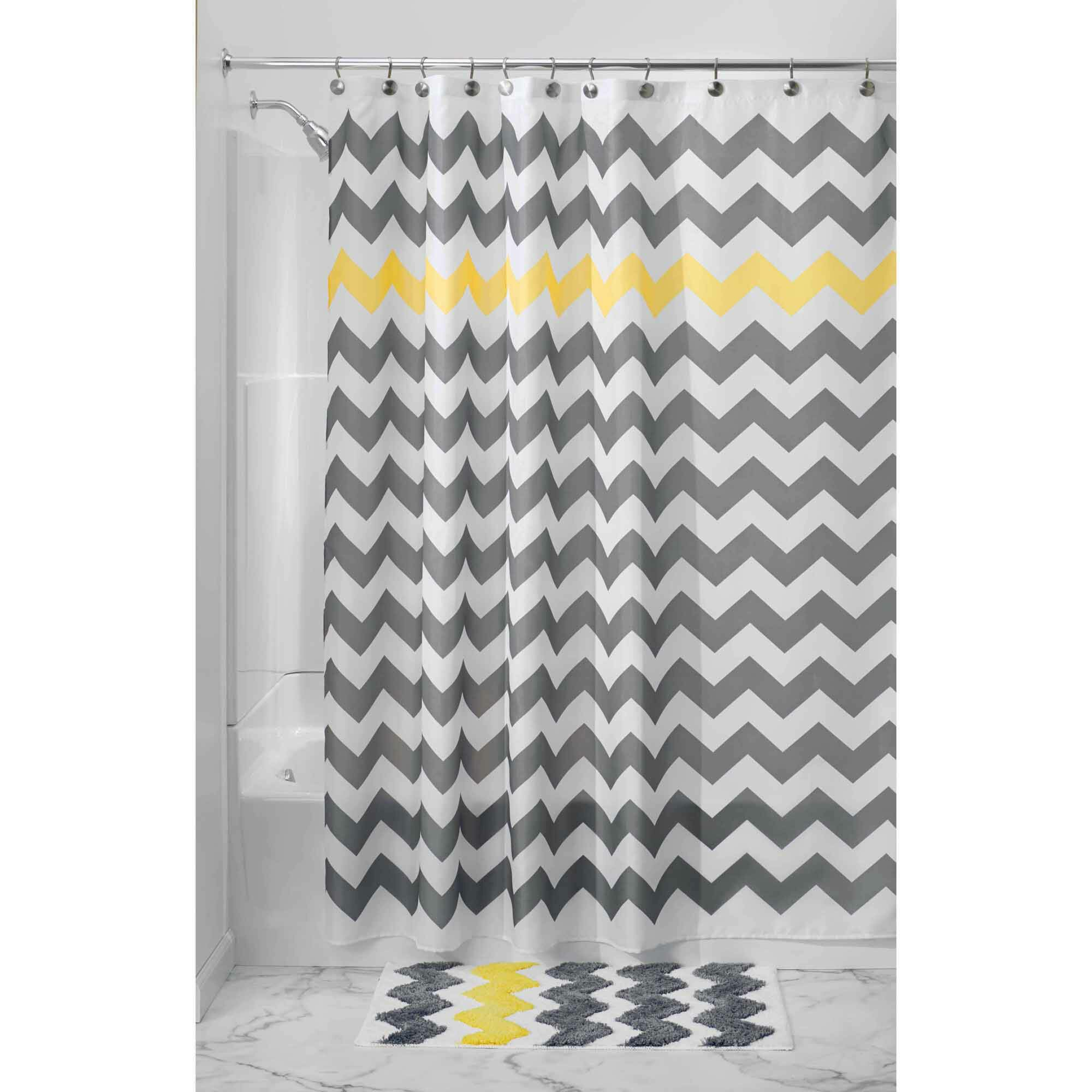 Neutral Shower Curtains | Walmart Shower Curtain | Matching Shower Curtain and Window Curtain