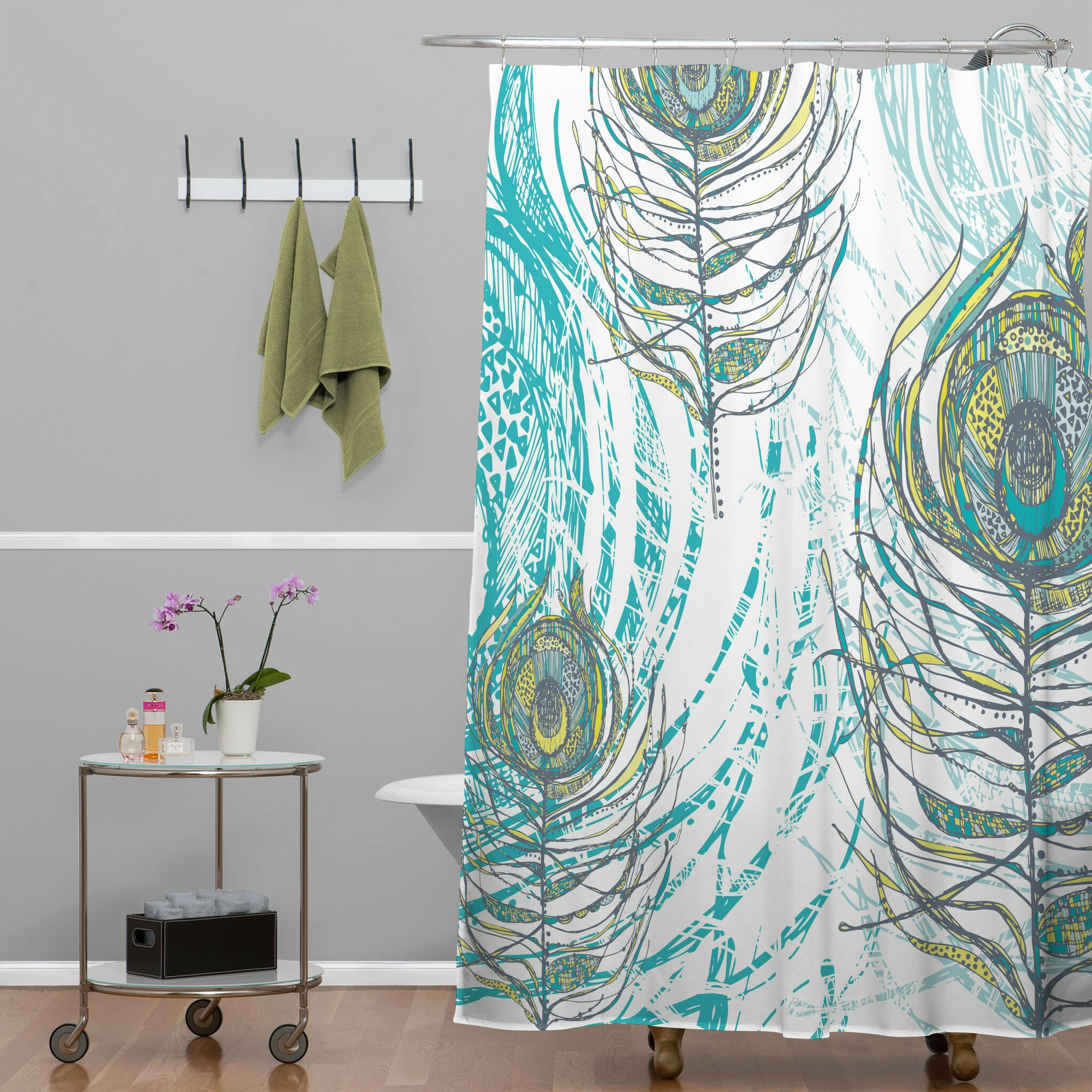 Walmart Shower Curtain for Cute Your Bathroom Decor Ideas: Neutral Shower Curtains | Walmart Shower Curtain | Shower Curtains Walmart