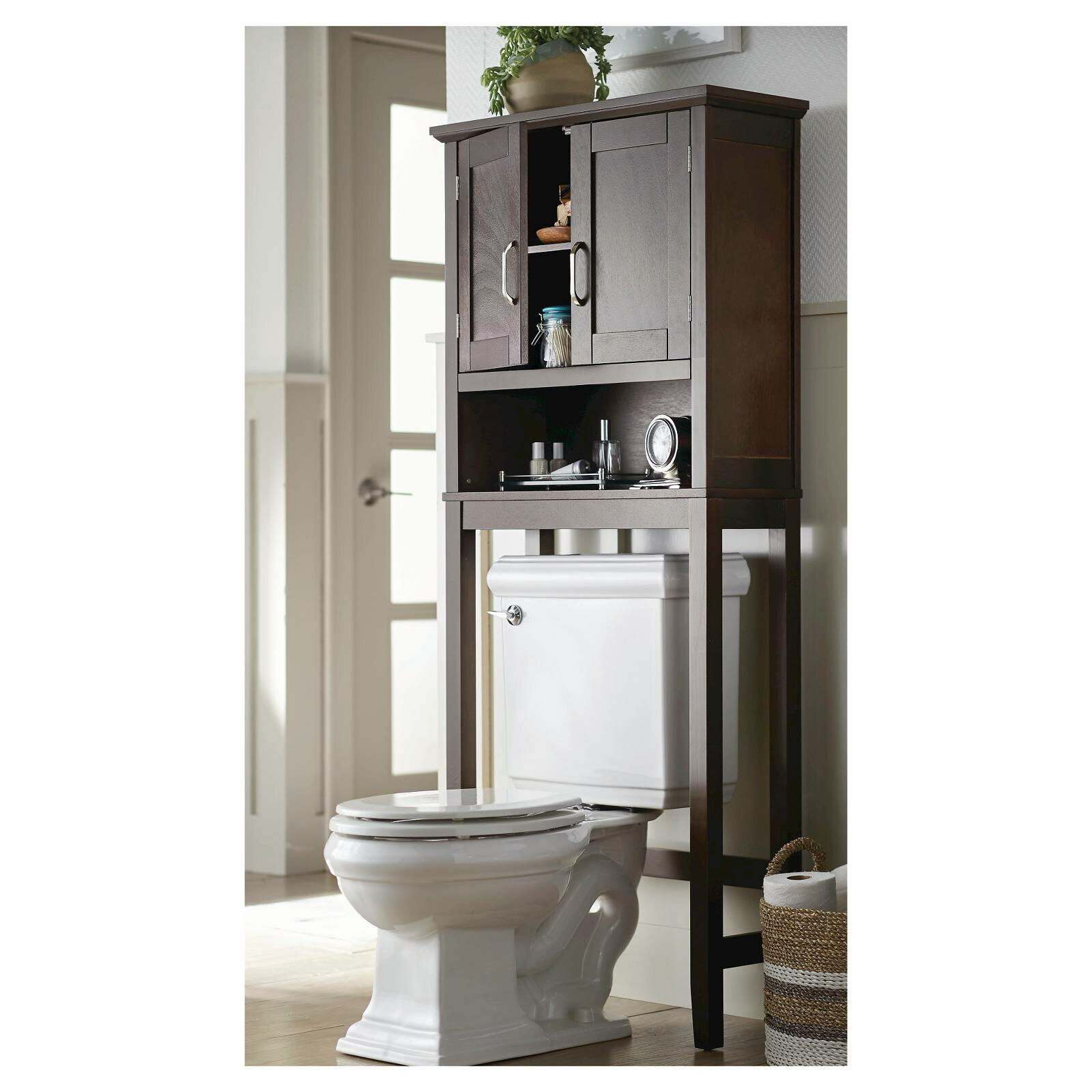 Bathroom Bathroom Storage Cabinets Over Toilet Over The