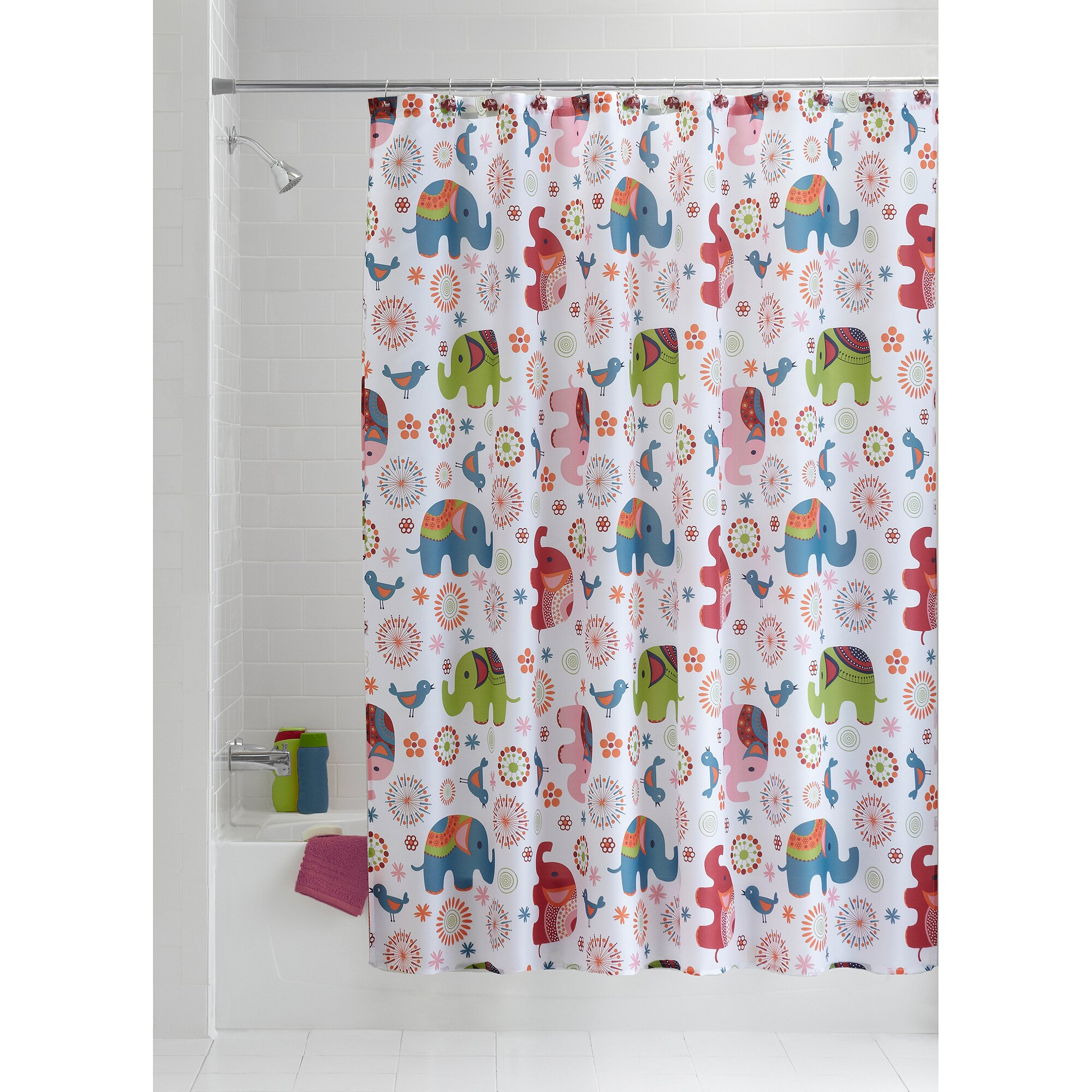 Paris Shower Curtain Walmart | Shower Curtain Liner Dimensions | Walmart Shower  Curtain