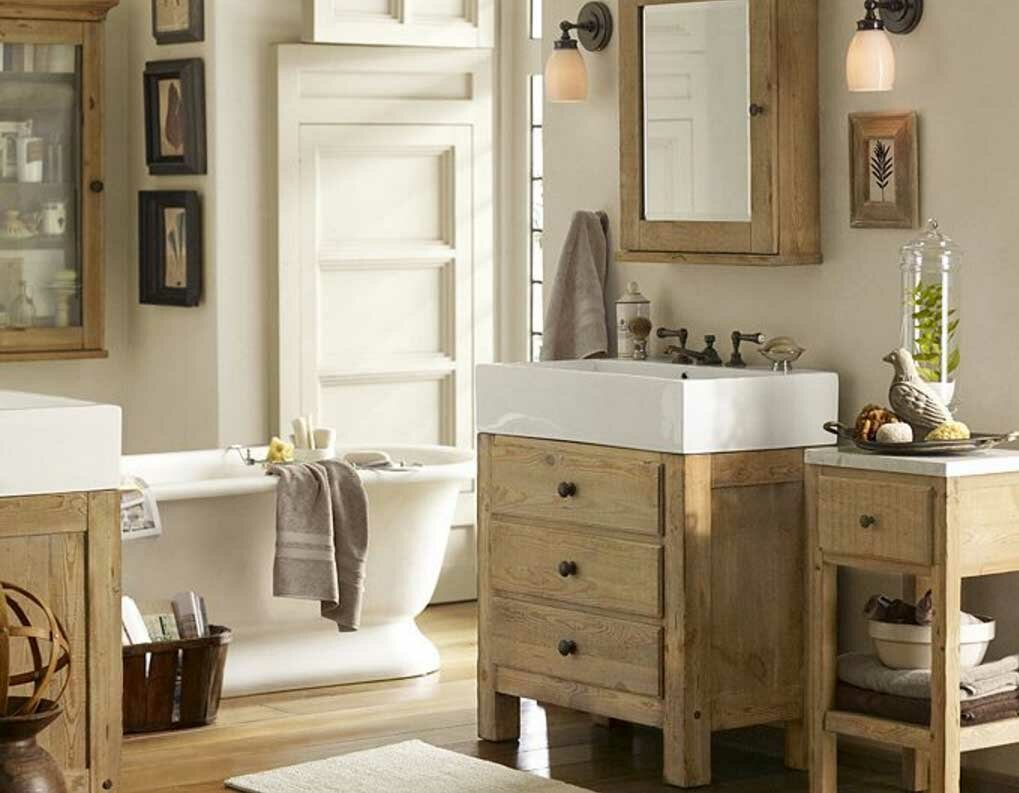 awesome pottery barn bathrooms designs | Bathroom: Pottery Barn Vanity For Bathroom Cabinet Design ...