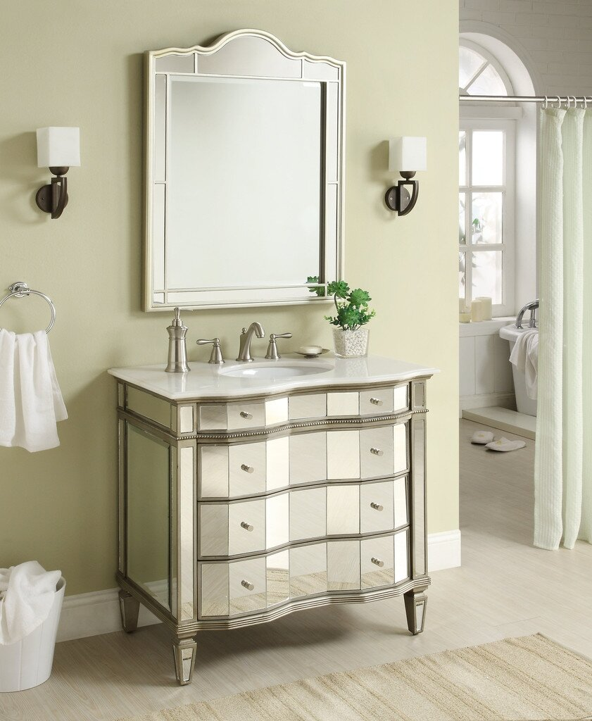 Pottery Barn Vanities | Pottery Barn Vanity | Corner Bathroom Vanity