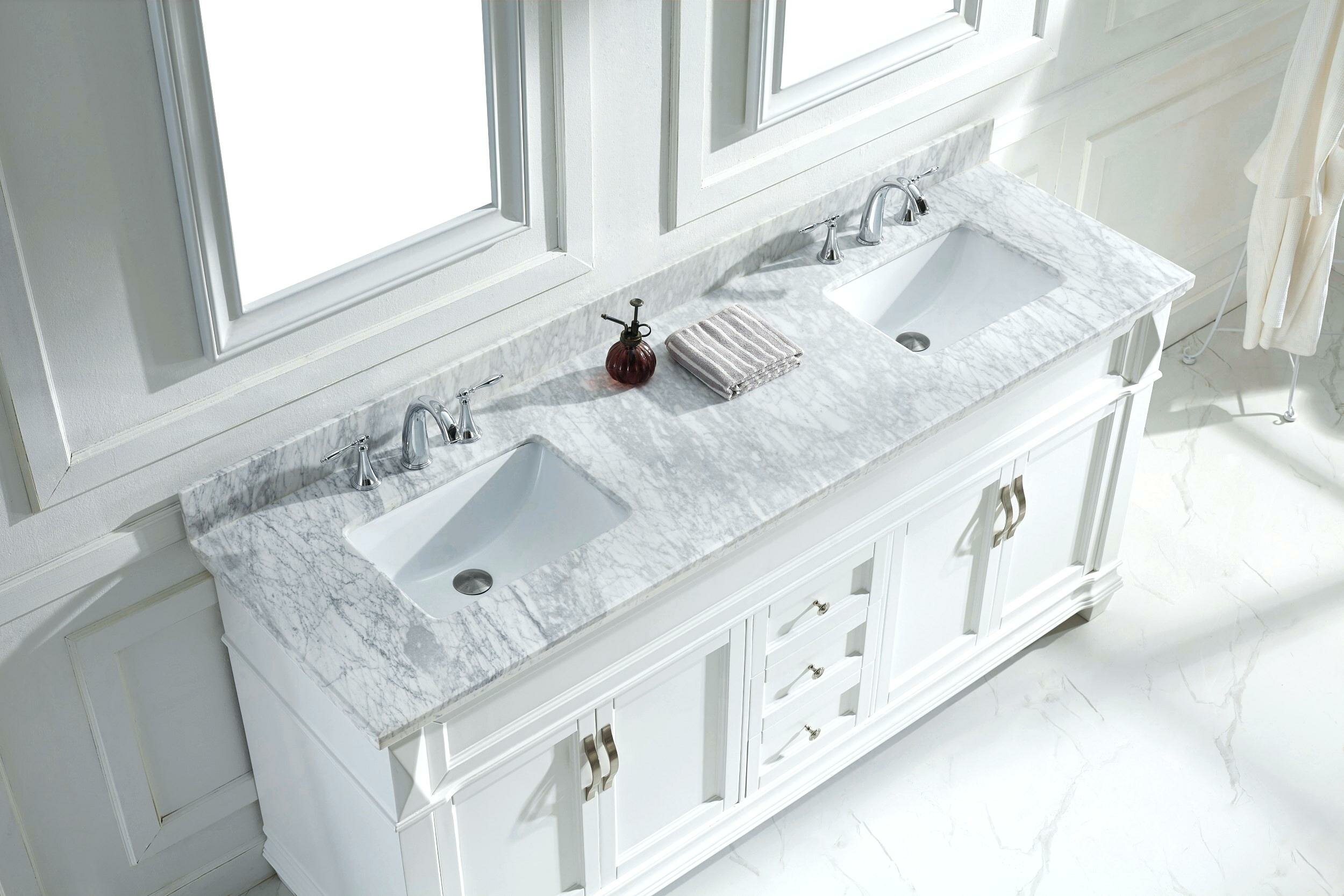 Pottery Barn Vanity | 54 Inch Bathroom Vanity Single Sink | Farmhouse Bathroom Vanity