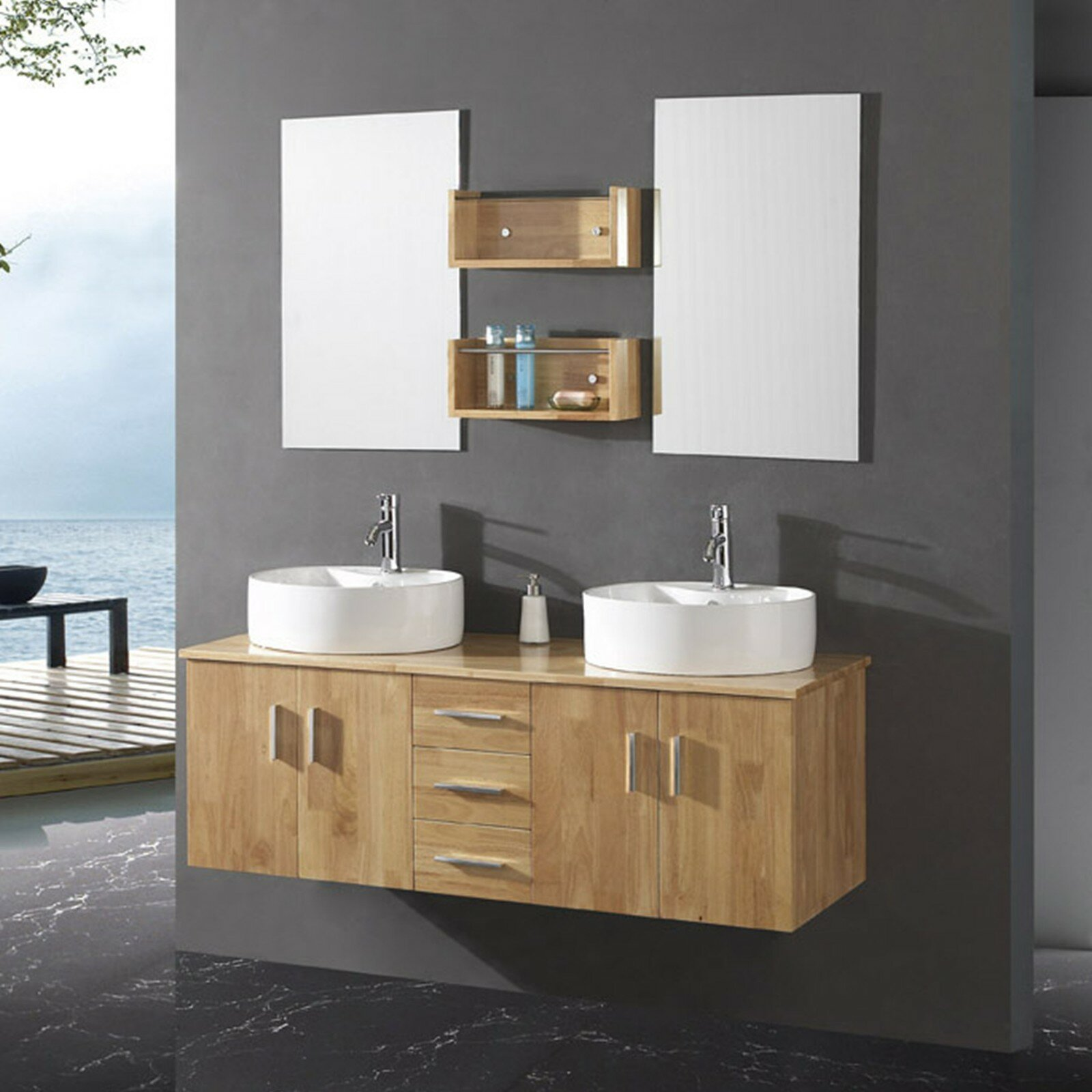 Wood Vanities For Bathrooms bathroom: pottery barn vanity for bathroom cabinet design ideas